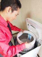 洗濯槽クリーニング